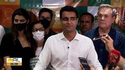 JHC, eleito prefeito de Maceió, agradece aos eleitores pela vitória