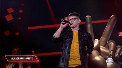 João Marcelo Prevedel canta 'Canto De Ossanha' na Rodada de Fogo