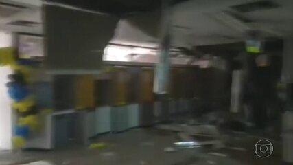 Bando causa terror em tentativa de roubo, em Cametá, no Pará.