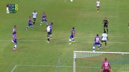 Melhores momentos: Fortaleza 0 x 0 Corinthians pela 24ª rodada do Brasileirão 2020