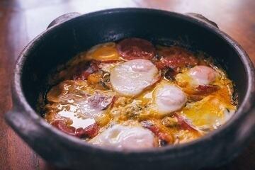 Moqueca de ovos