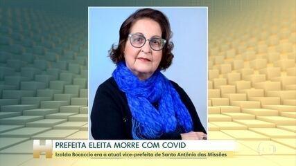 Prefeita eleita de Santo Antônio das Missões morre por complicações da Covid-19