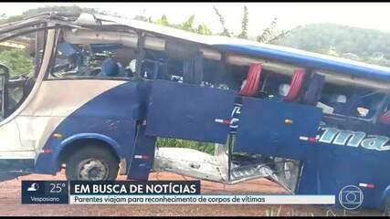Polícia Civil aguarda material coletado de vítimas de acidente com ônibus de turismo