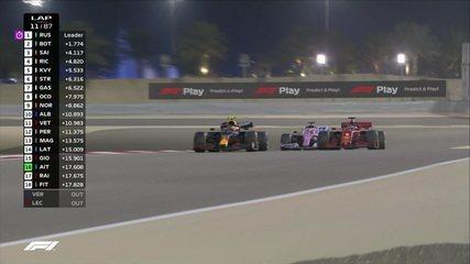 Sakhir GP: Vettel é deixado para trás por Albon e Pérez