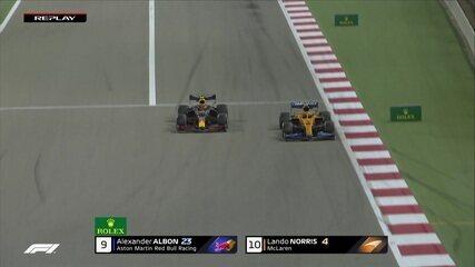 Sakhir GP: Albon passa Norris