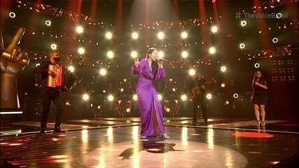 Glícia França canta 'Sabiá' nos Shows ao Vivo