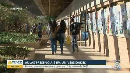 MEC muda previsão e adia volta às aulas presenciais em universidades para 1º de março