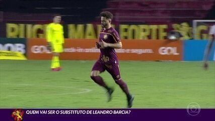 Sport tenta encontrar um substituto para Leandro Barcia