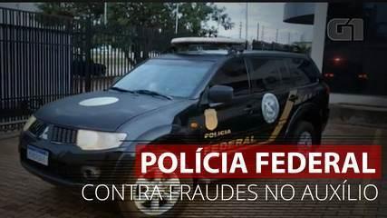 VÍDEO: PF vai às ruas contra fraudes no auxílio emergencial