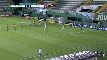 Melhores momentos de Chapecoense 3 x 2 CRB, pela 28ª rodada do Brasileirão Série B
