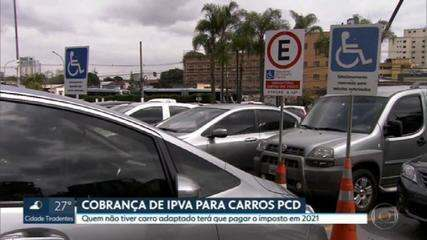 Quem que não tiver carro adaptado terá que pagar IPVA em 2021