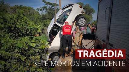 VÍDEO: Sete pessoas morrem após carro cair em rio em Campos dos Goytacazes, no RJ