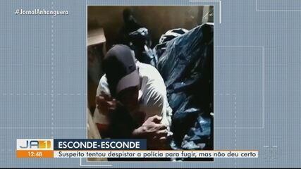 Homem tenta furtar casa, mas é surpreendido pela polícia, em Anápolis