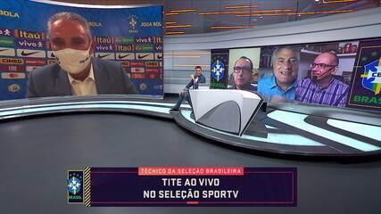 Tite diz que Marinho e Thiago Galhardo são os melhores jogadores em atividade no Brasil