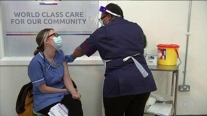 Reino Unido já administrou quase 140 mil doses da vacina contra Covid-19 em uma semana