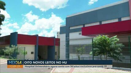 Hospital Universitário de Cascavel abre novos leitos para pacientes da covid-19