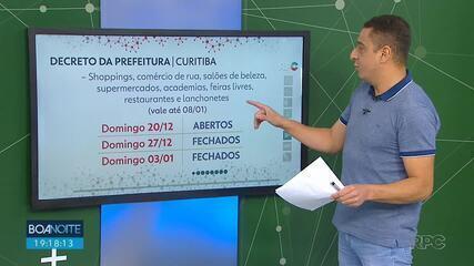 Curitiba prorroga bandeira laranja, mas abre exceções para este domingo (20)
