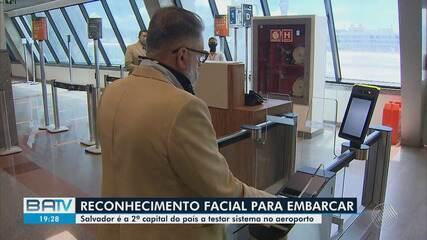 Aeroporto de Salvador faz testes para embarque de passageiros com reconhecimento facial