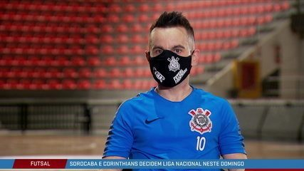 Sorocaba e Corinthians decidem a Liga Nacional de Futsal
