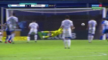 Melhores momentos de Avaí 1 x 1 Cruzeiro pela Série B do Campeonato Brasileiro