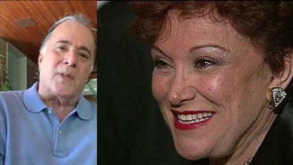 Tony Ramos sobre Nicette Bruno: 'Saudade para todo sempre'