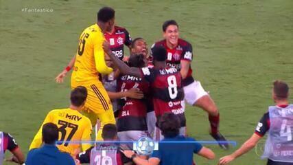 Gols do Fantástico: Flamengo vence o Bahia e assume a vice-liderança do Brasileirão