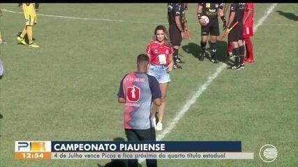 4 de Julho vence Picos e fica próximo do quarto título estadual