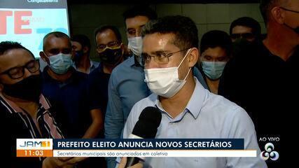 Em Manaus, prefeito eleito fala sobre as prioridades da gestão