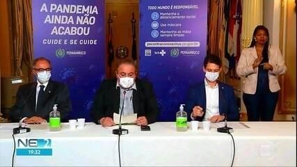 Secretário de Saúde prevê alta de casos de Covid-19 em PE no primeiro semestre de 2021