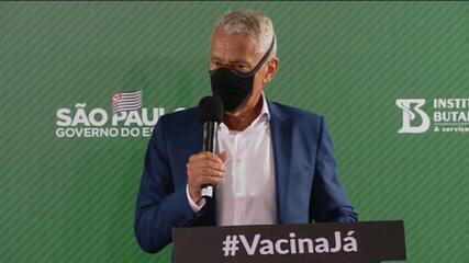 Governo de SP confirma cronograma de vacinação contra Covid com início em 25 de janeiro