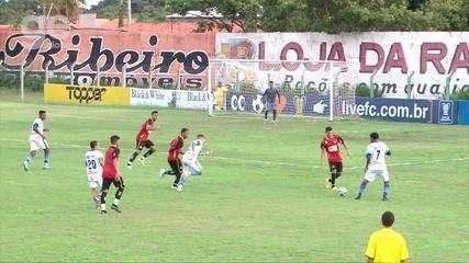 Os gols de Altos 2 x 0 Globo FC pelo jogo de ida das eliminatórias da Copa do Nordeste