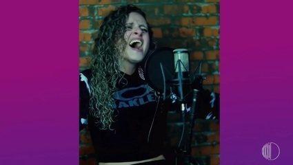 Cantora Edna Fernandes traz mensagens positivas em músicas