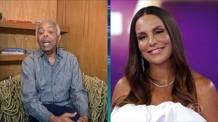 Gilberto Gil comenta sobre Ivete Sangalo