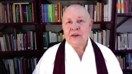 Analu Lourenço bate um papo com a Monja Coen sobre o papel da meditação na saúde
