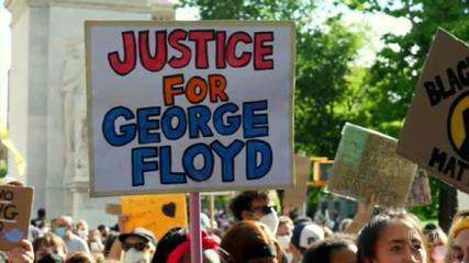 The death of George Floyd by white police officers in the United States has become a symbol of the anti-racist struggle