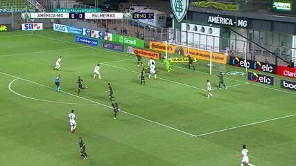Melhores momentos: América-MG 0 x 2 Palmeiras, pelas semifinais da Copa do Brasil
