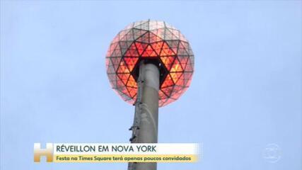 Réveillon na Times Square, em Nova York, será virtual; cantora Anitta se apresenta