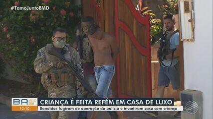 Susto: Criança autista é feita refém por criminosos, em Lauro de Freitas