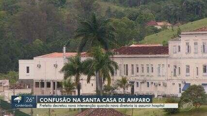 Prefeito decreta nova intervenção em Santa Casa de Amparo