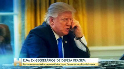 Em telefonema, Trump pressiona secretário de estado da Geórgia a 'encontrar' 11.780 votos