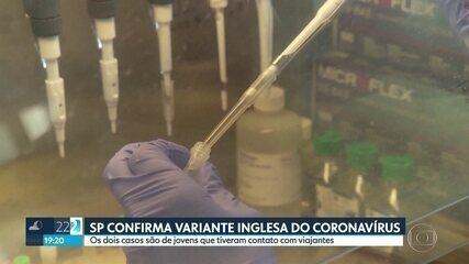 São Paulo confirma variante inglesa do coronavírus