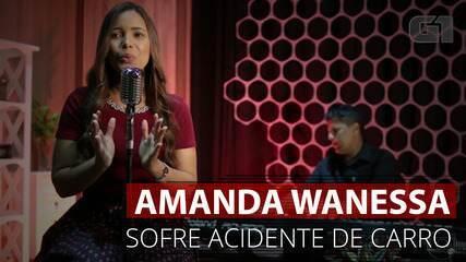 VÍDEO: Amanda Wanessa tem carro destruído após grave acidente na PE-60