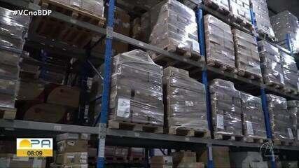 Governo distribui seringas e agulhas para as regionais da Sespa