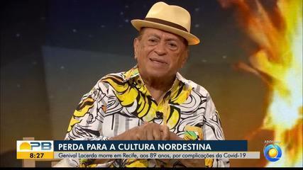 Morre cantor paraibano Genival Lacerda, vítima da Covid-19