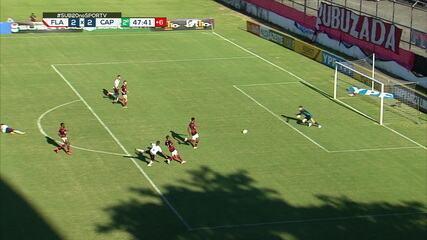 Melhores momentos de Flamengo 2x2 Athletico, pela semifinal do Brasileiro sub-20