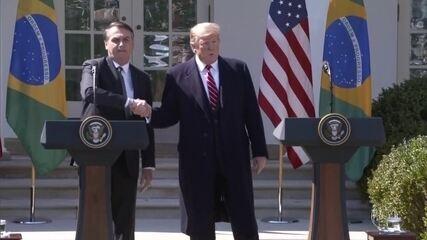 As consequências pro Brasil do alinhamento com Trump após a chegada de Biden à presidência dos EUA