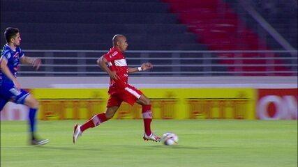 Os gols de CRB 2 x 0 Confiança, pela 33ª rodada da Série B