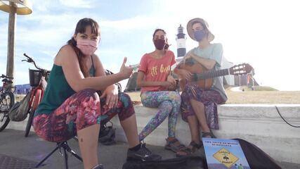 Briza entrevista casal que viaja pelo Brasil de bicicleta e documenta experiência na web