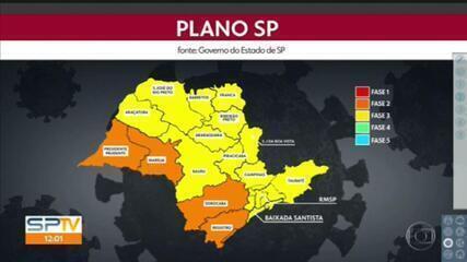 Capital continua na fase amarela do Plano SP