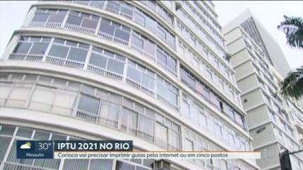 Guias do IPTU do Rio precisam ser impressas pela internet ou em postos